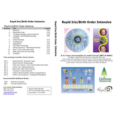 Rayid Iris Birth Order Intensive CD