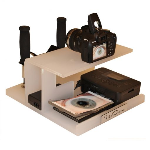 IrisCam Iridology Cameras Australia Perspex Rear View 3